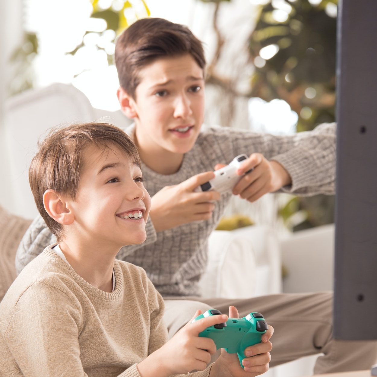 brothers playing on playstation e1615963163461